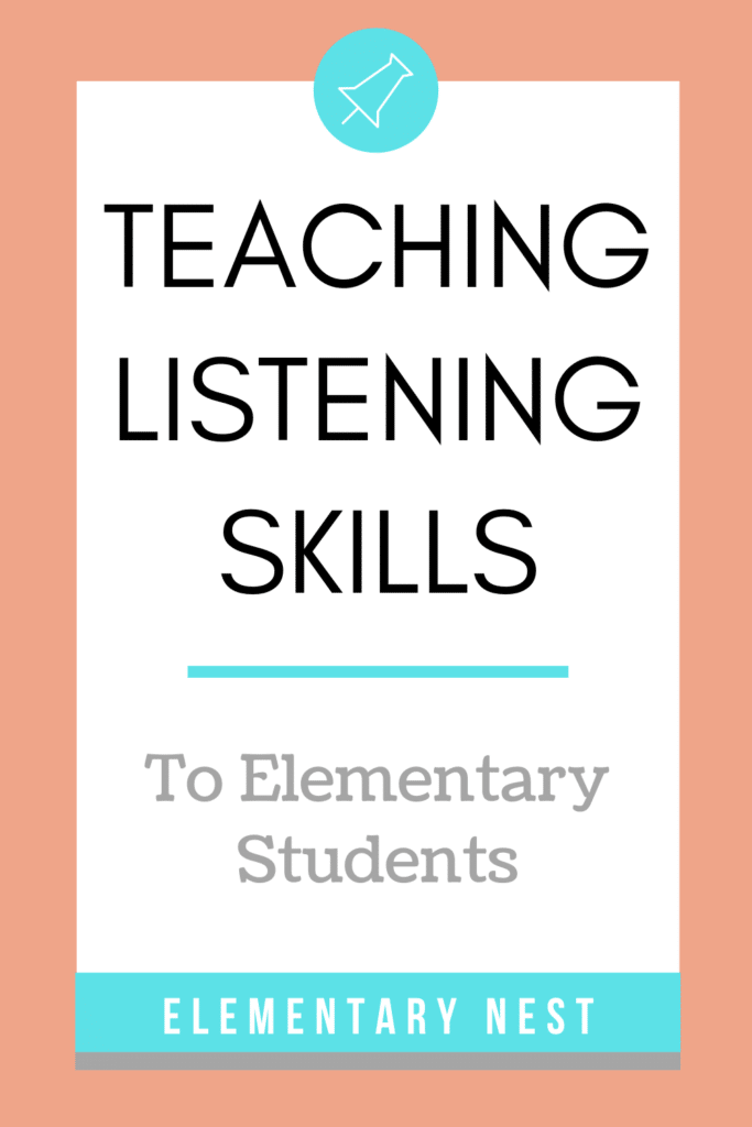 Teaching listening skills blog post