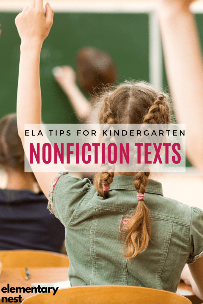 Learn more about how to teach nonfiction to your kindergarten students using these reading informational nonfiction resources.