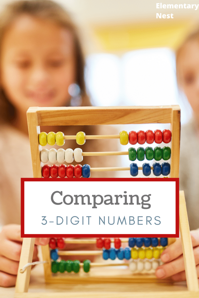 Comparing 3-digit numbers blog post