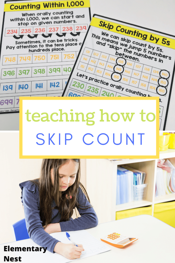 How to teach skip counting blog post
