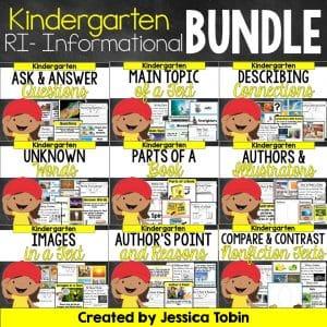kindergarten informational bundle