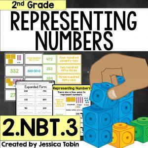 Representing Numbers activity bundle