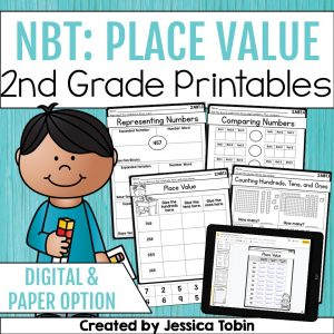2nd grade place value printables