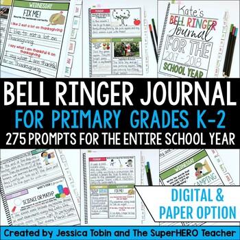 Bell Ringer Journal Grade 1-2