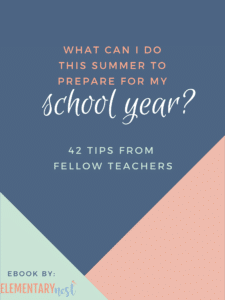 ebook cover to 'what can i do this summer to prepare for my school year?'
