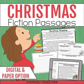 Christmas Activities Reading Comprehension