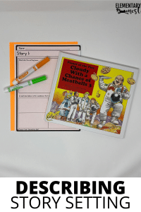 Setting Student Activity, graphic organizer