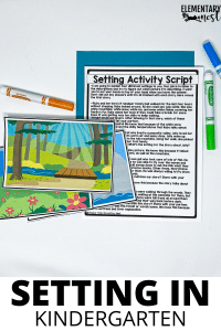 Setting activity for kindergarten