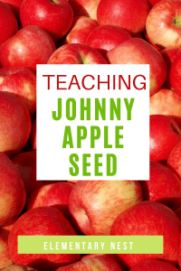 Ideas for teaching about Johnny Appleseed.