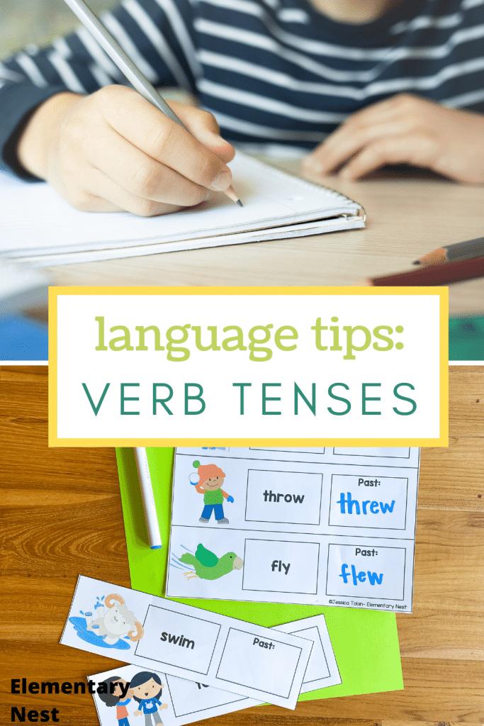 Language tips: Verb tenses