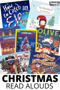 Christmas read alouds, holiday picture books