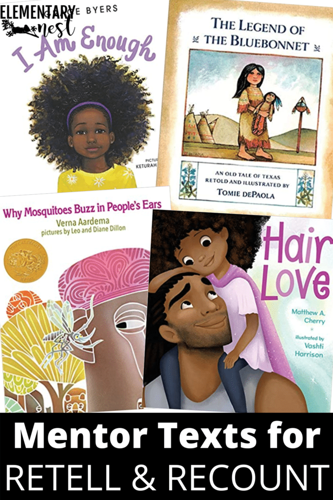 Mentor texts for retell and recount