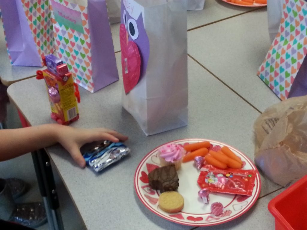 Valentine's Day Party in the Primary Classroom