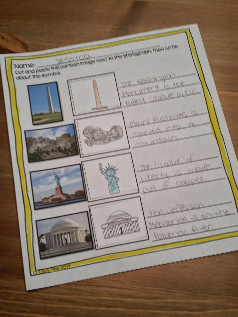 American Symbols Activities to teach students all about the American Symbols- hands on activities to tie in social studies content- reading, writing, and research activities