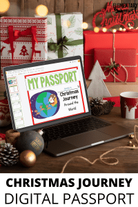 Digital Passport for learning about Christmas Around the World