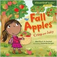 Fall apples crisp and juicy book cover