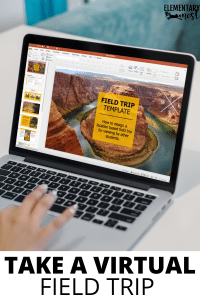 Virtual field trip template