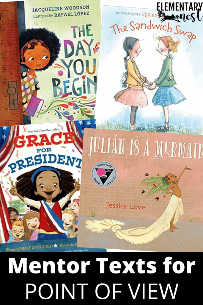 Mentor texts for point of view