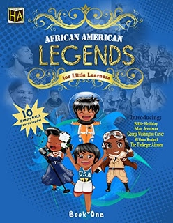 African American Legends book cover