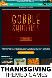 Interactive Thanksgiving Games