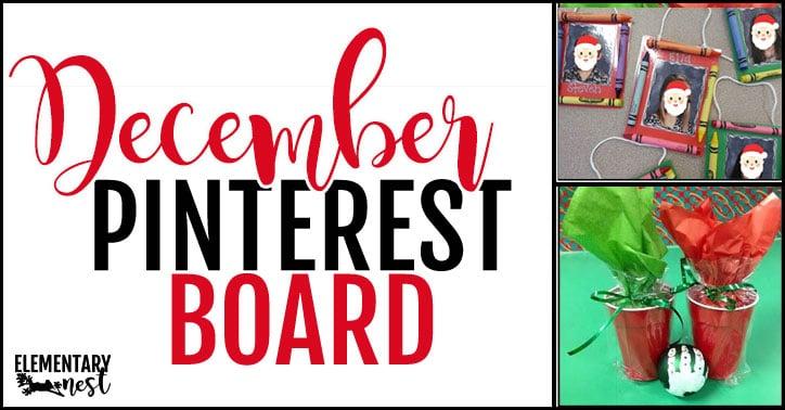 December Pinterest board