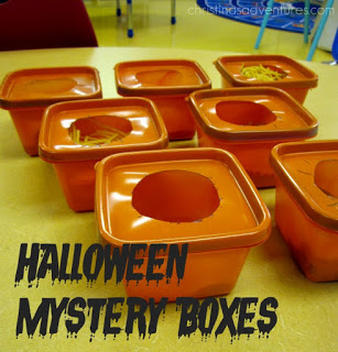 Halloween mystery boxes