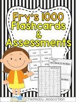 Fry's 1000 Flashcards & Assement