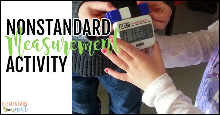 Nonstandard measurement activity