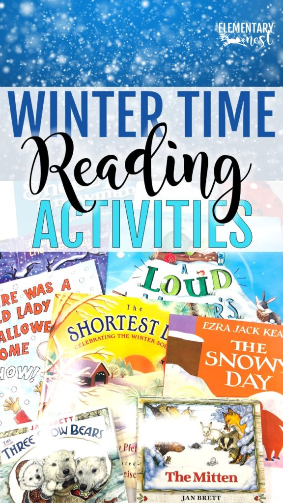 Winter time reading activities