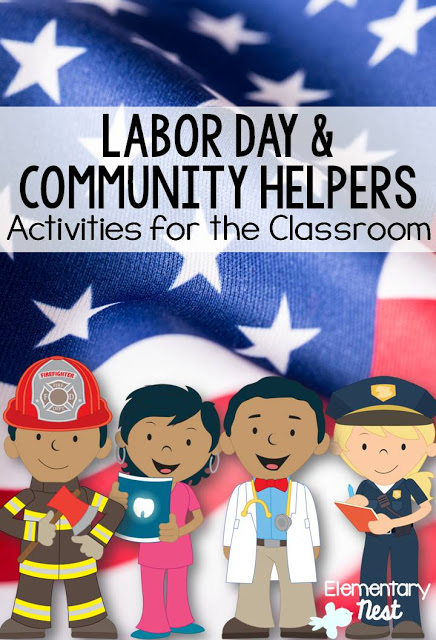 Labor Day & Community Helpers activities for the classroom