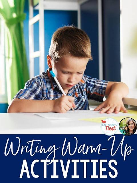 Writing warm-up activities