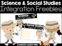 Science and social studies integration freebies