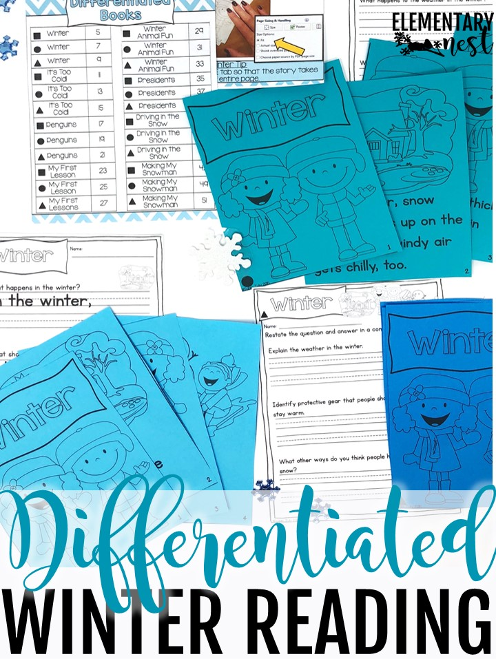 Differentiated winter reading