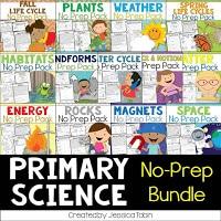 Primary science no-prep bundle
