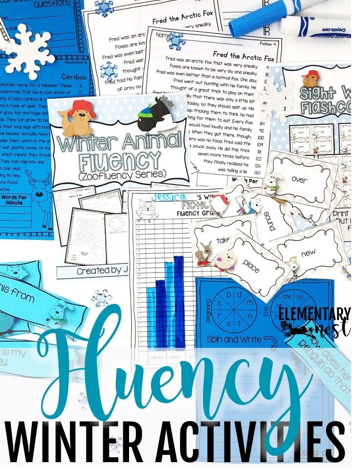 Fluency winter activities