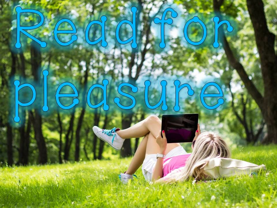 Read for pleasure to reduce stress