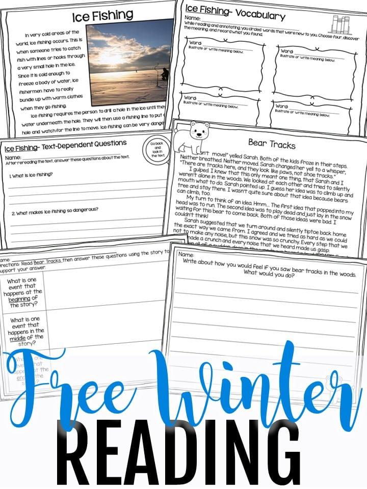 Free winter reading