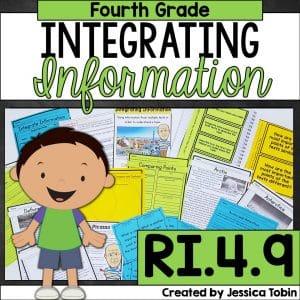 Fourth grade integrating information