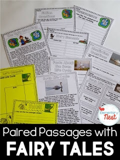 Paired passages with fairy tales