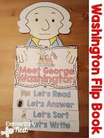 George Washington flip book