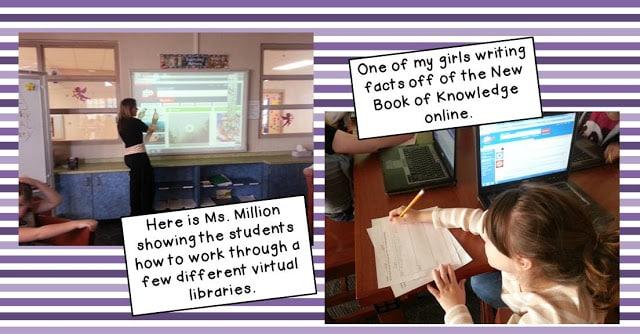 Working through virtual libraries
