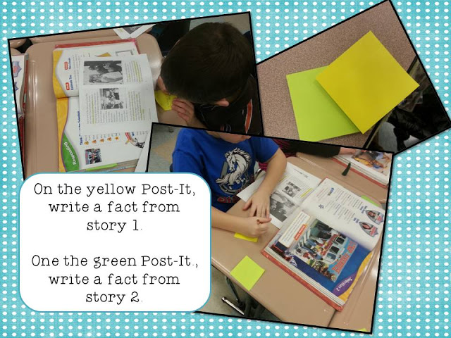 Comparing nonfiction in actioin