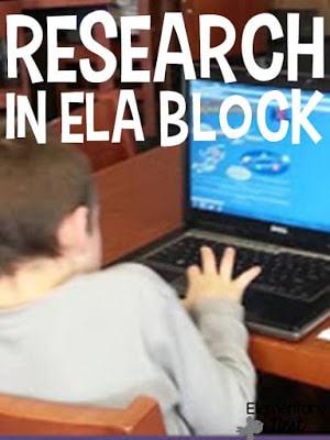 Research in ELA block
