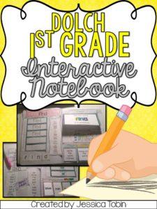 1st grade interactive notebook