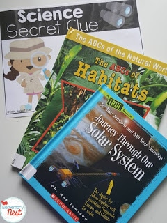 FREE ELA, Science, and Social Studies Integration- using clues to engage students during reading time to learn more about science and social studies.
