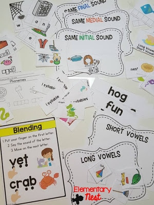 Phonological awareness pack