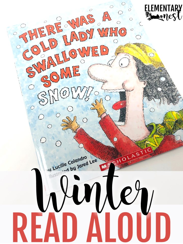 There was a cold lady who swallowed some snow.