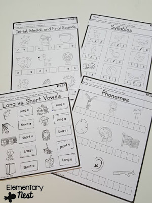 Phonological awareness mini-lessons