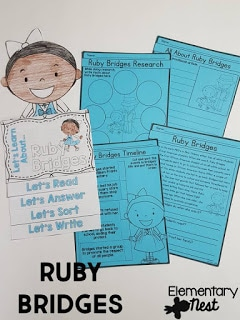 Ruby Ridges learning activity