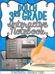 3rd grade interactive notebook